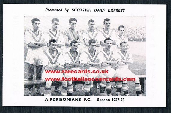 1957 Scots Daily Express Airdrie
